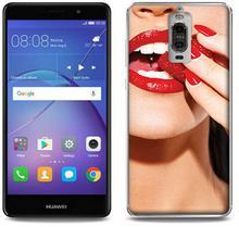 Etuo.pl Foto Case - Huawei Mate 9 Pro - etui na telefon Foto Case - czerwone usta ETHW463FOTOFT023000