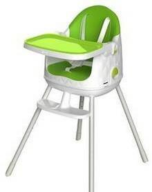 Keter Krzesełko do karmienia 3v1 multidine Biała/Zielona