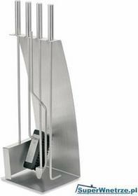 Blomus Komplet narzędzi kominkowych osłonięty stalową taflą Chimo 65131