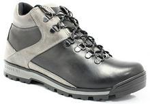 Kent 291 CZARNY-SZARY - Męskie buty zimowe, lekkie ocieplenie 291 CZARNY-SZARY