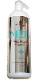 Kallos MED Detox Głęboko oczyszczający szampon do włosów 1000 ml 5998889515911