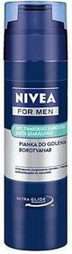 Nivea For Men: pianka do golenia twardego zarostu 200ml