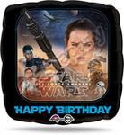 Opinie o Star Wars Balon foliowy HAPPY BIRTHDAY - VII 17 1 szt.