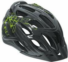 Kellys Kask rowerowy DARE black-green