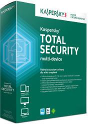 Kaspersky Total Security Multi Device (3 stan. / 2 lata) - Nowa licencja