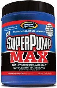 Gaspari Nutrition Super Pump MAX 640g