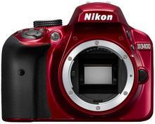 Nikon D3400 body czerwony