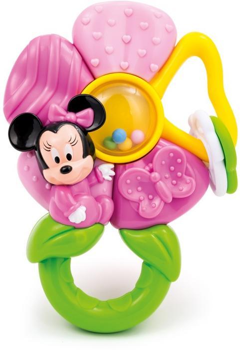 Clementoni Myszka Minnie kwiatek gryzaczek