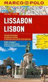 praca zbiorowa Marco Polo Plan miasta Lizbona - skala 1:15 000 - błyskawiczna wysyłka!