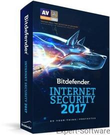 BitDefender Internet Security 2017 5PC / 1Rok