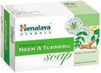Himalaya Mydło w kostce Neem i Kurkuma 75g (Protecting Neem & Turmeric soap)