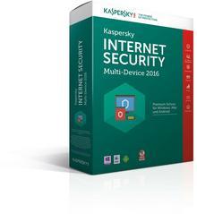 Kaspersky Internet Security 2016 (1 stan. / 1 rok) - Nowa licencja