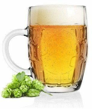 Glasmark Kufel do piwa 500ml Plaster Miodu