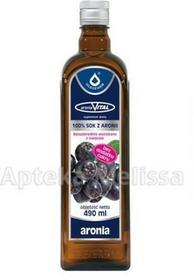 Oleofarm ARONIAVITAL Sok z owoców aronii 490 ml