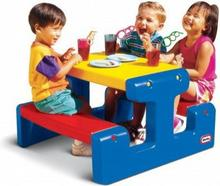 Little Tikes Stolik Junior Picnic Table - Primary
