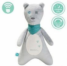Szumiś Szumiś Szumiący Miś SZUMCH-01 chłopiec szary sensor płaczu czujnik snu System non-stop włączenie mechanizmu aż na 12 godzin