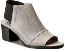 Nessi Sandały 80706 Szary Lizaro/Szary 19 materiał/-materiał, skóra naturalna/zamsz, skóra naturalna/-nabłyszczana