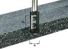 Festool frez z płytkami do wyrównywania, HW z trzpieniem 12 mm HW S12 D21/30WM (491120)