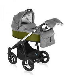 Baby Design Husky 2w1 04 GREY-GREEN