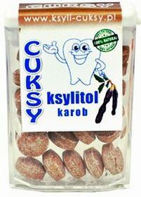 Pięć Przemian CUKSY - cukierki ksylitolowe z karobem 13g