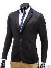 Ombre Clothing Marynarka M53 - CZARNA