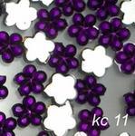 Cyrkonie akrylowe Ozdoby do paznocki kc11 ciemny fiolet