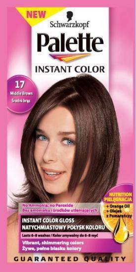 Schwarzkopf Palette Instant Color 17 średnia Brąz