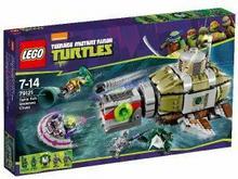 LEGO Żółwie Ninja Teenage Mutant Ninja Turtles Pościg łodzią podwodną żółwi 79121
