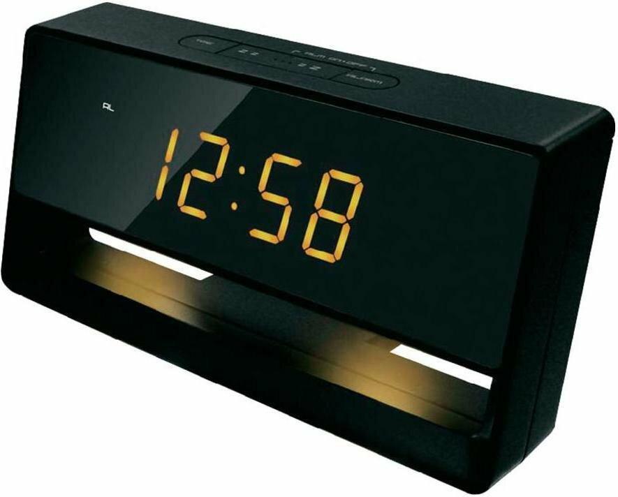 Technoline Zegar cyfrowy WT 495 czujnik światła kwarcowy czarny