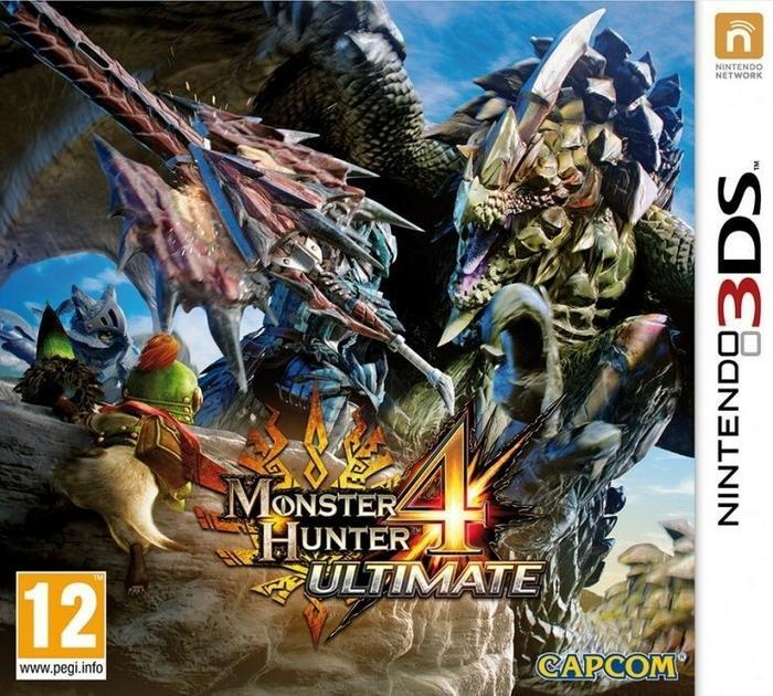 Monster Hunter 4 Ultimate 3DS