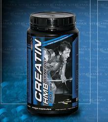 Vitalmax Cretatin-HMB Synergy Mega Caps 120 kaps.