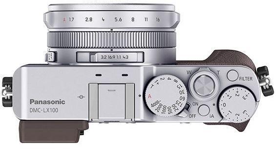 Panasonic DMC-LX100 srebrny