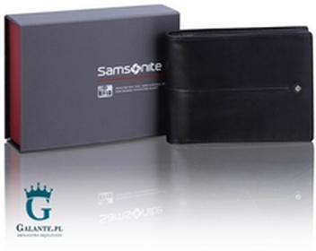 Samsonite Portfel męski 144-P20 z blokerem RFID