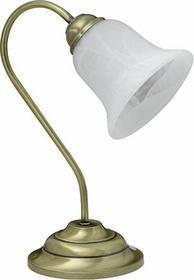 Rabalux klasyczna Lampa stołowa FRANCESCA 7372 IP20 Patyna biały
