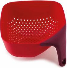 Joseph Joseph Durszlak kwadratowy Plus średni czerwony - 40060