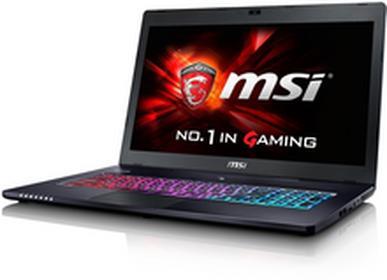 "MSI GS72 6QD-082XPL 17,3\"", Core i7 2,6GHz, 8GB RAM, 1000GB HDD (GS72 6QD-082XPL)"