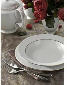 Chodzież Zestaw obiadowy dla 6 osób porcelana MariaPaula Złota Linia   Darmowa d