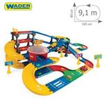Wader Kid Cars 3D - Multi Parking z trasą 9.1 m