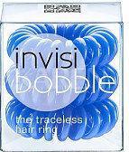InvisiBobble Navy Blue niebieskie gumki do włosów