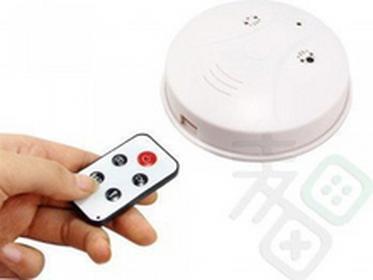 eNexus Mini kamera w wykrywaczu dymu AT-145
