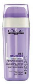 Loreal podwójne serum wygładzające SOS Liss Unlimited 30ml Włosy nieposłu