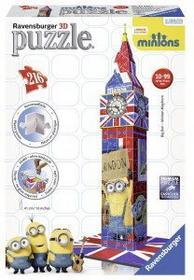 Ravensburger 216 puzzle 3D Minionki Big Ben R_PR-125890