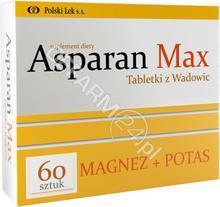 Polski Lek Asparan Max Tabletki z Wadowic 60 tabl