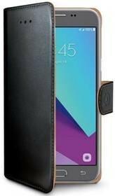 Celly Pokrowiec na telefon Wally pro Samsung Galaxy J3 2017) WALLY663) Czarne