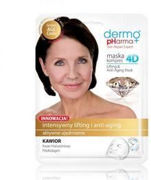 Dermo Pharma + Maska kompres 4D lifting i anti-aging
