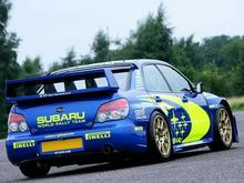 Jazda Subaru Impreza - pasażer - Cała Polska - 1 okrążenie
