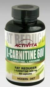 Activita L-karnityna 600 135 kaps.