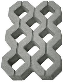 Polbruk Płyta ażurowa 40 x 60 x 8 cm szara