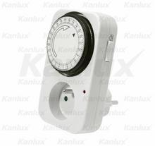 Kanlux analogowy programator czasowy - dobowy STER TS-MF1 16A max.3500W