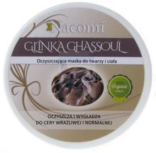 Nacomi Glinka do twarzy Ghassoul 100 ml